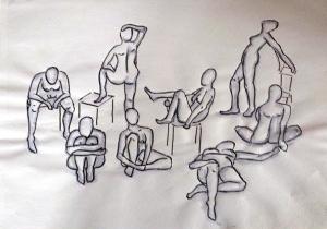 Gruppe, A4, 2014 40.-